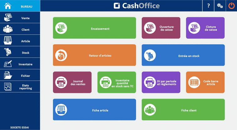 Logiciel de caisse Cash Office