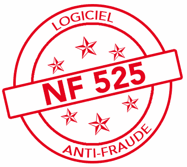 Logo certification NF 525