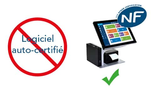 CashOffice certifié NF525